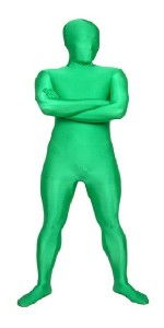 Morphsuit - Green Man Suit
