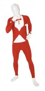 Morphsuit - Smoking Röd