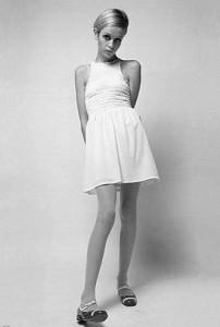 Modedress med Twiggy